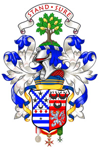 The Arms Of David Waterton Anderson Ksg The Armorial