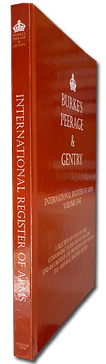 Burke�s Peerage & Gentry International Register of Arms Volume 1