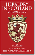 Heraldry in Scotland, Volumes 1 and 2 .