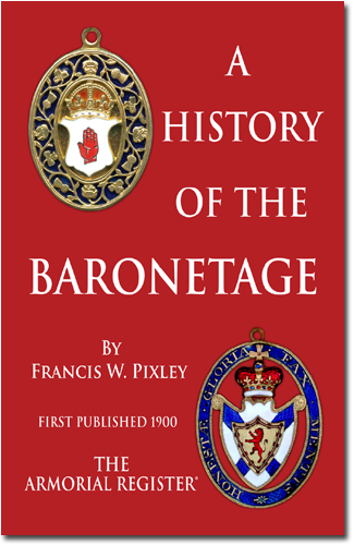List of baronetcies in the Baronetage of the United Kingdom